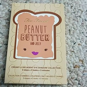 Too Faced peanut butter and jelly eye shadow colle